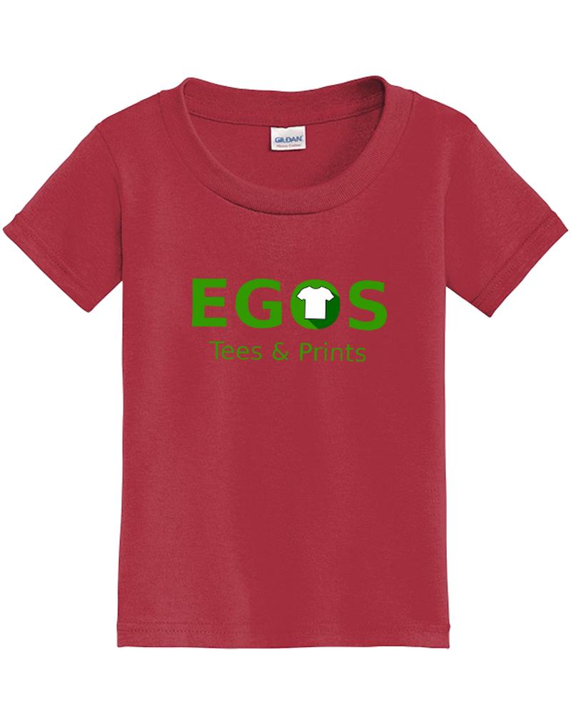 Custom Printed Toddler Cotton T-ShirT